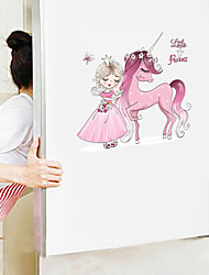 cheap -Cute Cartoon Wall Stickers - Animal Wall Stickers Animals / Landscape Study Room / Office / Dining Room / Kitchen-A
