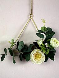 Недорогие -Искусственные цветы Полиэстер Modern В форме свечи Корзина Цветы В форме свечи 1