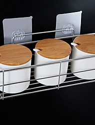 cheap -Bathroom Shelf New Design / Cool Contemporary Stainless Steel 2pcs Wall Mounted