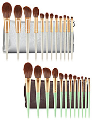 cheap -Professional Makeup Brushes 12pcs Soft New Design Full Coverage Adorable Comfy Wooden / Bamboo for Makeup Set Makeup Tools Makeup Brushes Eyeliner Brush Blush Brush Makeup Brush Eyeshadow Brush
