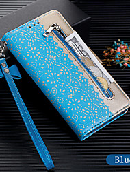 cheap -Case For Samsung Galaxy A70 / A50 Wallet / Card Holder / Flip Full Body Cases Solid Colored PU Leather for A7(2018) / A8(2018) / A5(2017) / A6(2018) / A20E / A60 / A30 / A40 / A10