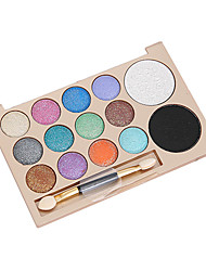 cheap -14 Colors Eyeshadow Adult Daily EyeShadow Lidded Portable Carrying Single Open Lid Women Portable Tool Case Casual / Daily Daily Makeup Party Makeup Cosmetic Gift