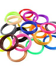 Недорогие -myriwell abs 1.75 мм нить 10 цветов 5 м случайный цвет выбран 3d напечатаны 1.75 мм 3d ручка пластиковая 3d принтер нить накаливания 3d ручки abs экологическая безопасность