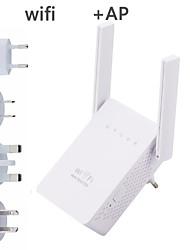 abordables -répéteur / routeur / ap wr302s de prolongateur de gamme de wifi 5dbi doubles antennes externes 2.4ghz prolongateurs de wifi amplificateur de signal
