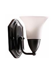 Недорогие -настенное освещение настенное освещение настенное освещение / настенное освещение&усилитель; бра магазины / кафе / спальня металлический настенный светильник