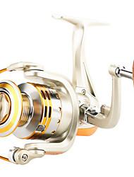 cheap -Fishing Reel Bearing Spinning Reel 4.7:1 Gear Ratio+10 Ball Bearings Hand Orientation Exchangable Sea Fishing / Freshwater Fishing / Lure Fishing - YR5000 / General Fishing / Trolling & Boat Fishing