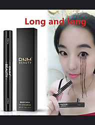 cheap -Fiber Mascara Natural 4D Waterproof Curling Black Mascara Eyelash Double Head Double Brush Double Capacity Eye Makeup