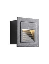 Недорогие -лестничные ступени осветительные приборы уличные настенные бра скрытого монтажа современные современные настенные светильники / настенные светильники&усилитель; бра бра / наружный алюминиевый