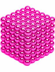 Недорогие -64-1000 pcs 4mm Магнитные игрушки Магнитные шарики Конструкторы Сильные магниты из редкоземельных металлов Неодимовый магнит Головоломка Куб Неодимовый магнит / Стресс и тревога помощи / Магнитный