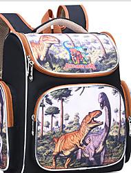 cheap -Large Capacity Nylon Zipper School Bag Cartoon Daily Dark Brown / Purple / Green / Girls'
