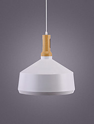cheap -1-Light 34 cm Pendant Light Metal Cone Industrial Painted Finishes Retro 110-120V 220-240V