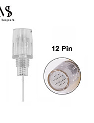 cheap -15PCS Screw 8mm 12 Needle Cartridges For Permanent Makeup Machine Derma Pen Mesotherapy