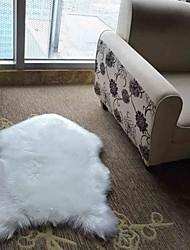 abordables -Paillasson / Carpettes Moderne Laine artificielle / Imitation daim, Avion Qualité supérieure Couverture