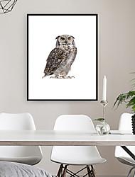 cheap -Framed Art Print Framed Set - Abstract Animals PS Photo Wall Art