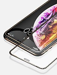 Недорогие -Подходит для Apple закаленное стекло экрана протектор экрана кристалл алмаза для iphone5 / 5s / 5c / 5se / 6 / 6s / 6plus / 6splus / iphnoe7 / 7plus / iphone8 / 8plus / iphnoex / xs / xr / xsmax