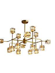 cheap -16 Bulbs ZHISHU 83 cm WIFI Control Chandelier Metal Glass Sputnik Industrial Painted Finishes Contemporary Chic & Modern 110-120V 220-240V