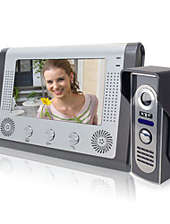 cheap -LITBest 801M11 Wired Built in out Speaker 7 inch Hands-free 800*480 Pixel One to One video doorphone