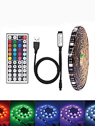cheap -LOENDE 5m Light Sets 150 LEDs SMD5050 RGB Waterproof / USB / Party 5 V / USB Powered 1 set