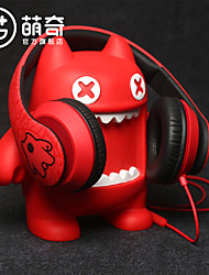 cheap -MEKI Zombiescat Headwear Magic Sound Headphone Wired headphone Stereo High Definition Microphone Multi-function