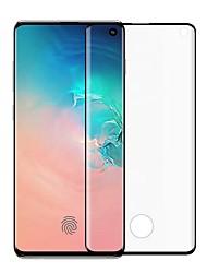 Недорогие -Samsung GalaxyScreen ProtectorGalaxy S10 HD Защитная пленка для экрана 1 ед. Закаленное стекло