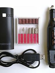 Недорогие -1 комплект Алюминиевая фольга Инструменты для маникюра Безопасность Съемная Простой Инструменты для педикюра для Маникюр Педикюр / Белая серия