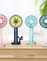 cheap -1Pc Usb Power Supply Zipper Fan Separate Detachable Multi-Function Charging Treasure Mobile Phone Bracket Mirror Mini Fan Usb Charging Fan