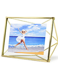 cheap -Modern Contemporary Plastic & Metal Painted Finishes Picture Frames Wall Decorations, 2pcs Picture Frames