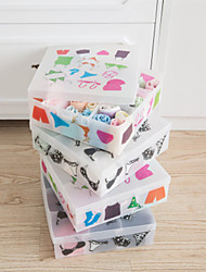 cheap -Plastic Rectangle New Design Home Organization, 1pc Storage Boxes