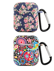 cheap -Protective Cover Case Artistic Apple Airpods Shockproof Scratch-proof Silicon Rubber