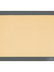 abordables -Dongguan pho_09qa16.5 * 11.6 pouces; tapis de cuisson en silicone de fibre de verre résistant aux températures élevées 1pcs