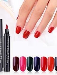Недорогие -Кусачки для ногтей УФ-гель польский 1 pcs Стиль / очарование Замочить от Долгое На каждый день Стиль / очарование Модный дизайн / Яркий тон / Разные цвета