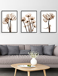 cheap -Framed Art Print Framed Set - Still Life Floral / Botanical PS Photo Wall Art