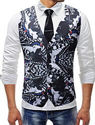 cheap -Polyester Wedding Vests Print / 3D