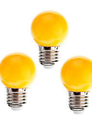 cheap -3pcs 0.5 W LED Globe Bulbs 15 lm E26 / E27 G45 8 LED Beads Decorative Yellow 180-240 V