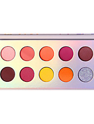 cheap -2 Colors Eyeshadow Adult Daily EyeShadow Lidded Portable Carrying Single Open Lid Women Portable Tool Case Casual / Daily Daily Makeup Party Makeup Cosmetic Gift