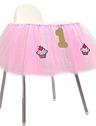 cheap -Tulle Table Skirts Cover Table Cloth for Girl Princess Party, Baby Shower, Slumber Party, Wedding, Birthday Parties and Home Decoration-Beautiful, Eye Catching & Unforgettable Party Centerpiece, 36 *