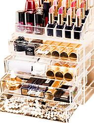 Недорогие -Место хранения организация Косметологический макияж Акрил Нерегулярная форма Оригинальные