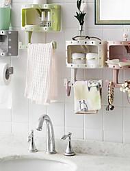 Недорогие -Мода держатель рулонной бумаги папиросной бумаги присоски туалетной бумаги ванной настенный цвет случайный