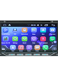 cheap -LITBest HE6611 7 inch 2 DIN Android In-Dash Car DVD Player / Car GPS Navigator Touch Screen / GPS / Built-in Bluetooth for universal Bluetooth Support RM / RMVB / Divx MP3 / WAV JPG