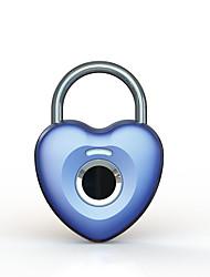 cheap -Factory OEM A9002 Zinc Alloy Fingerprint Padlock Smart Home Security System Fingerprint unlocking Household Others (Unlocking Mode Fingerprint)