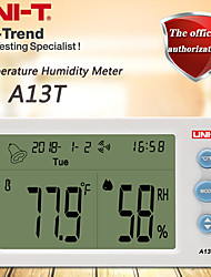 cheap -UNI-T A13T Temperature Humidity Meter Indoor temperature and humidity table time/date/week/temperature humidity display