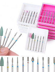 cheap -1 set Ceramic Metal Nail Manicure Tools New Wearproof Geometric Basic Daily Pedicure Tools for Finger Nail Toe Nail / Message Series