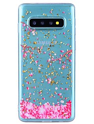 cheap -Case For Samsung Galaxy Note 9 / Note 8 Shockproof / Transparent / Pattern Back Cover Flower Soft TPU