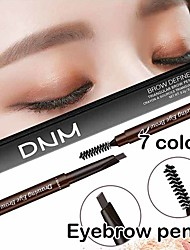 cheap -Double head Eyebrow pen Waterproof Eyebrow Pencil With Brush Makeup Cosmetic Tool