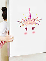 cheap -Cute Cartoon Wall Stickers - Animal Wall Stickers Animals / Landscape Study Room / Office / Dining Room / Kitchen-B