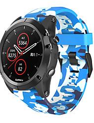 Недорогие -smartwatch группа для garmin fenix 2 / d2 браво / d2 чарли спортивная группа силиконовая мода мягкий ремешок