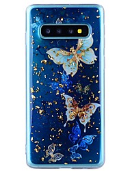cheap -Case For Samsung Galaxy Note 9 / Note 8 Shockproof / Transparent / Pattern Back Cover Butterfly Soft TPU