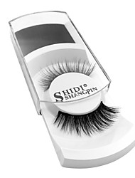 cheap -Eyelash Extensions 2 pcs Simple Women Ultra Light (UL) Comfortable Casual Convenient Animal wool eyelash Daily Wear Vacation Full Strip Lashes - Makeup Daily Makeup Fashion Cosmetic Grooming Supplies