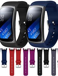 abordables -bracelet de montre pour samsung vitesse ajustement 2 / vitesse ajustement 2 pro samsung galaxy boucle moderne / boucle classique / bande de sport dragonne en silicone