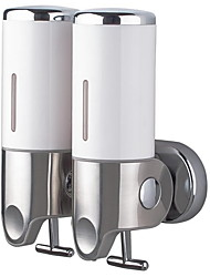 cheap -Soap Dispenser Creative Contemporary Plastics / Stainless Steel 1pc - Bathroom Wall Mounted